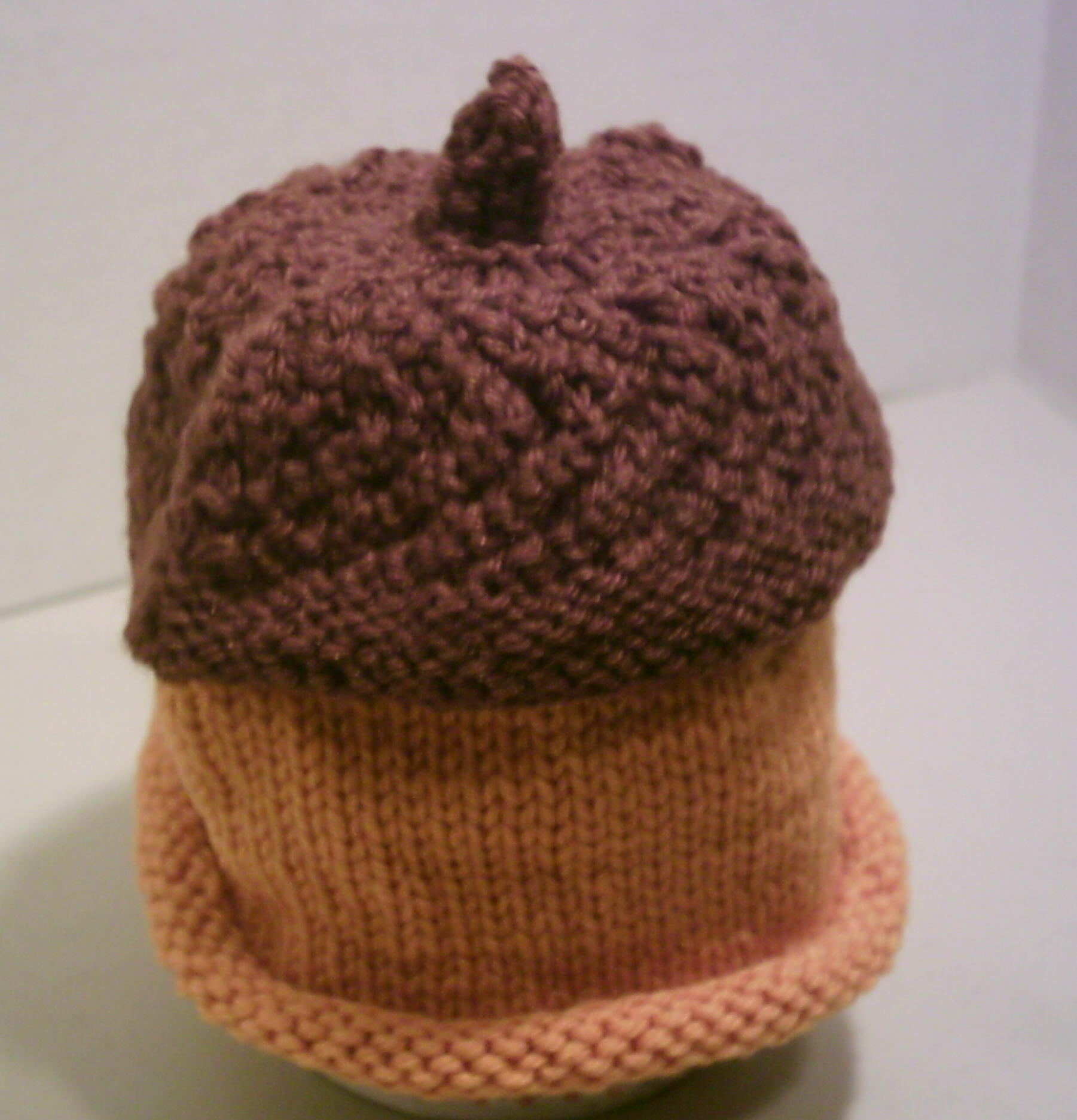 Knitting Pattern For Acorn Hat : Knit Hats :: Time For It Now